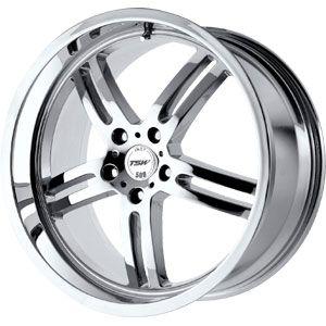New 18x8 5x120 TSW Indy 500 Chrome Wheel Rim