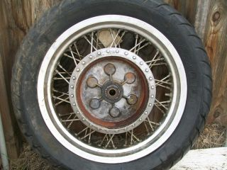 1986 Suzuki Intruder 700 Rear Wheel