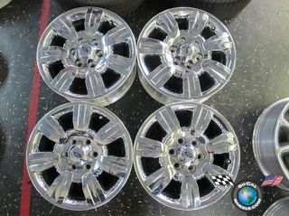 Four 09 12 Ford F150 Factory 18 Wheels Rims Expedition 3785 AL3J1007CA