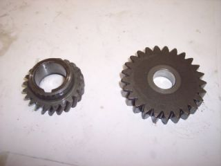 THESE ARE THE ENGINE PRIMARY DRIVE GEAR AND IDLE GEAR OFF OF A 1979