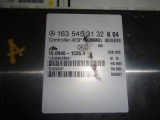 99 01 MERCEDES BENZ ML ML320 ML430 ABS ESP CONTROL MODULE 163 545 3132