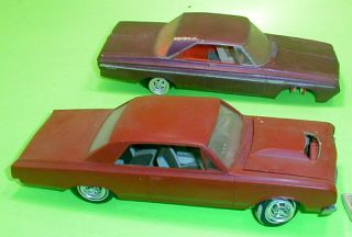 AMT 1964 Oldsmobile Cutlass & Johan Plymouth Fury Annual Orig Annual