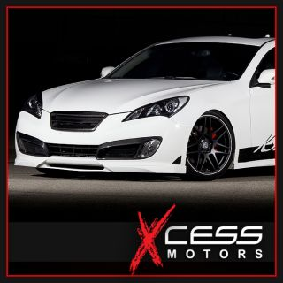 Fit for 2010 2011 2012 Genesis Coupe Front Bumper Lip Urethane