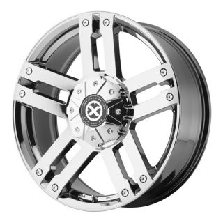 17x8 5 American Racing AX190 Chrome 7 Lug Ford 7 on 150mm 04 2012 F150