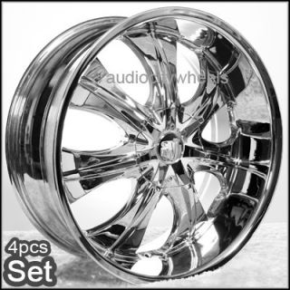 22 Wheels Rims Chevy Ford Escalade GMC Tahoe F150