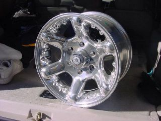 15x8 Jeep Wrangler Polished Wheels Chevy