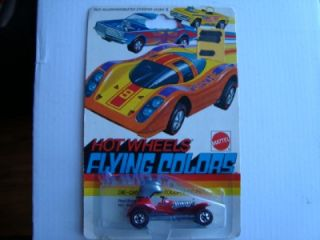 Hot Wheels Red Line Flying Colors Red Baron 1974 Mint