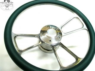 14 EZ Go Golf Cart 1982 1983 Teal Half Wrap Steering Wheel Set w