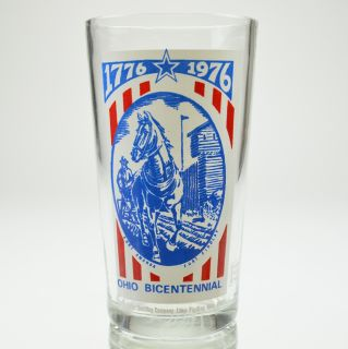Pepsi Cola Ohio Bicentennial Glass Fort Findlay 5 Tall Collectible