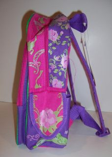 Disney Princess Frog Tiana Large Rolling Backpack New