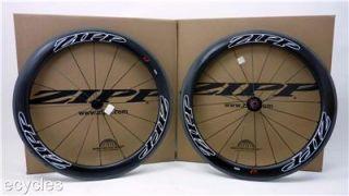 New 2013 Zipp Firecrest 404 Carbon Clincher Wheelset Shimano SRAM F R