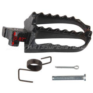 Iron Right Foot Peg 50cc 70 110cc 125cc 150cc 200cc 250cc Dirt Pit