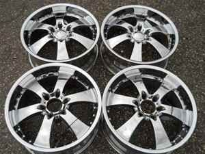 20 Eagle Alloy 6 Spoke Chrome Wheel Set 6 Lug 5 5 LKQ
