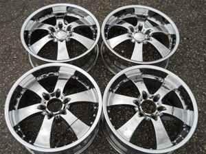 20 Eagle Alloy 6 Spoke Chrome Wheel Set 6 Lug 5 5 LKQ