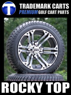 ITP SS212 Golf Cart Wheels and 205/30 12 ITP Golf Cart Tires