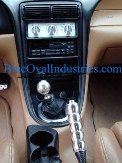 2005 2013 Mustang Polished Billet Aluminum Mirror Adjust Bezel