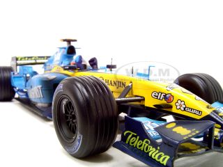 2005 Alonso World Champion Ltd Ed R25 F1 1 18 Model