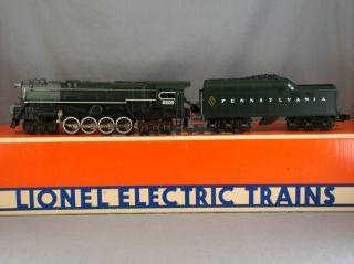 DTD   O SCALE   LIONEL 8404 S2 6 8 6 STEAM ENGINE   PENNSYLVANIA PRR