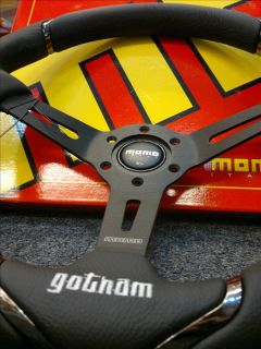 Genuine Momo Sports Steering Wheel Gotham Italy New