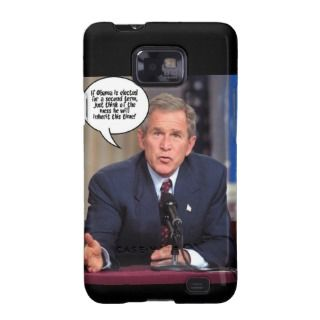 George W. Bush Humor Samsung Galaxy SII Cover