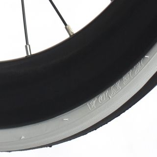 Fixie Single Speed Road Bike Track Wheel Wheelset SEALED Tyres Black
