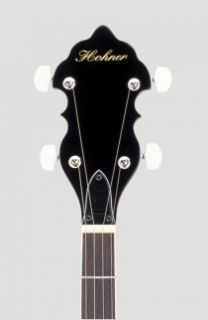 New Hohner High Quality 5 String Bluegrass Mahogany Resonator Banjo