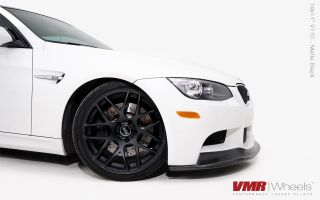 18x8 5 9 5 VMR 710 Staggered Matte Black Wheel 5x120 Fit BMW 325 328