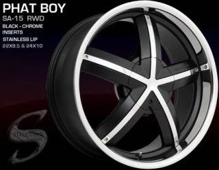 22 inch Chrysler 300C 300 C Wheels Rims 265 35 Tires
