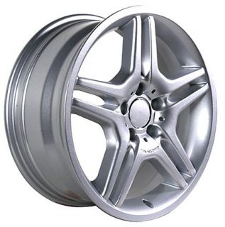 17 Rims Fit Mercedes AMG Stylewheels Silver Set