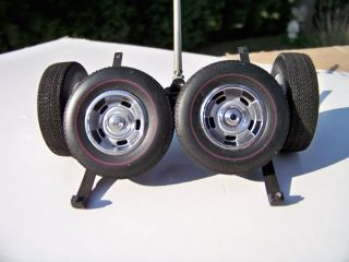 18 Lane Chevrolet Red Line Rally Wheel Tire Set with Differential
