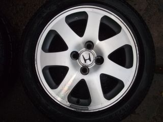 99 00 Honda Genuine Civic SI Wheels Rims B16