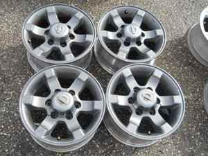 Nissan Frontier 15 Grey Alloy Wheel Rims Set LKQ