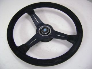 Nardi Black Suede Original Steering Wheel