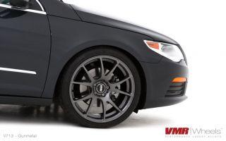 VMR 19 inch V713 Wheels Gunmetal Volkswagen VW GTI Passat Jetta Golf