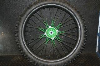 KX250 KX 250 Rear Wheel Hub Rim Spokes