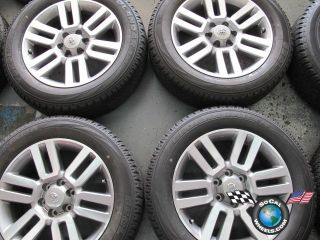 4Runner Factory 20 Wheels Tires OEM Rims 69561 Tacoma Sequoia Tundra