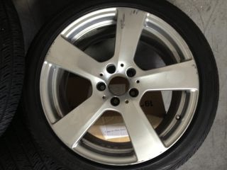 18 Used Mercedes E Class 2010 2011 Factory Wheel Continental Tires