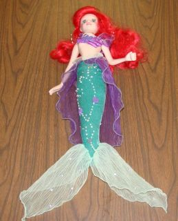 Little Mermaid Porcelain Doll Disneys Ariel 22