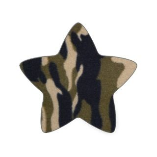 Camo Print Jungle Green/Black for Hunters Star Stickers