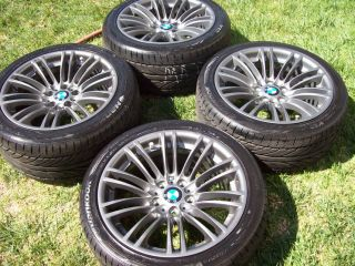 FACTORY BMW M3 OEM FACTORY WHEELS HANKOOK TIRES 260 M260 E90 E91 E92