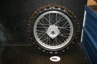 Honda CR85 CR 85 Expert Rear Wheel Hub Rim Spokes