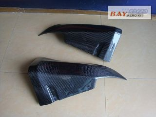 08 09 10 11 Infiniti G35 G37 Coupe Carbon Fiber Rear Corner Caps Lip