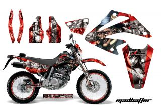 AMR Racing Honda XR250 SM Graphic Kit Sticker Dekor Number Backgrounds
