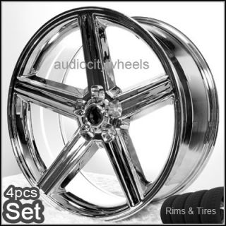 22 IROC Wheels Tires 5LUG Elcamino Camaro Rims Chevy