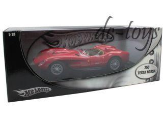 Hot Wheels 1957 Ferrari 250 Testa Rossa 1 18 Diecast Red