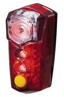Topeak TMS047 Redlite Mega Brightest LED Bike Tail Light 100 Hours Red