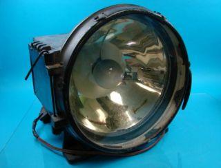Antique Steam Engine Locomotive Train Headlight Headlamp 110 Volt