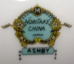 Noritake China Ashby Pattern Dinner Plate