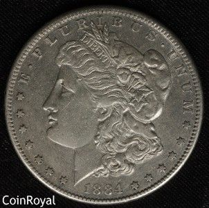 1884 S Morgan Silver Dollar About Uncirculated AU** BETTER DATE BETTER