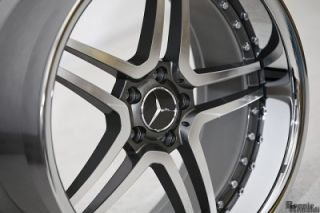 22 CL63 RS Wheels Rims Mercedes S550 CL550 w Continental 245 30 22